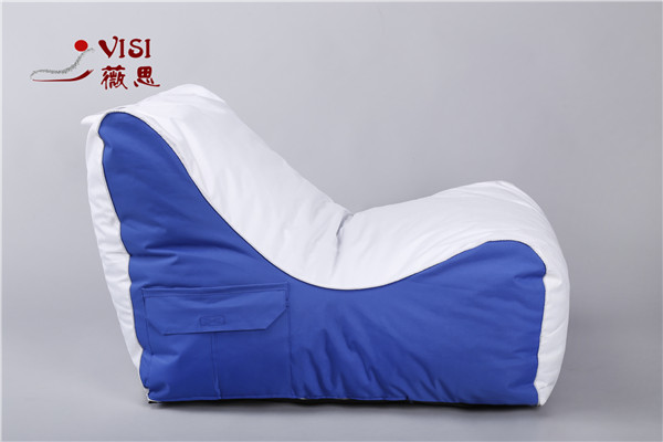 2017visi new foam filled compressed packing bean bag chair lounge