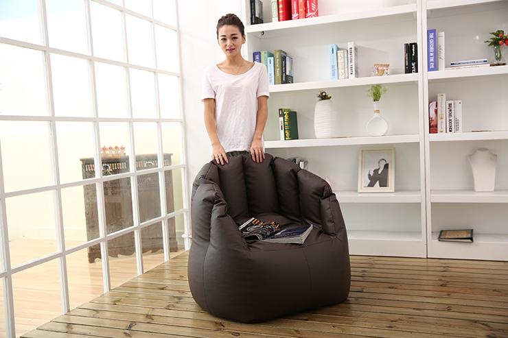Visi Pumpkin Bean Bag Chair Lazy Sofa